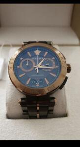 Versace Montre pour Homme Chrono VE1D01620 AION Swiss Made
