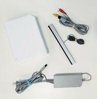 Nintendo Wii White Console (RVL-001) Complete Bundle - GameCube Compatible