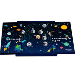 The Solar System - Child Proof Silver Set 9x10 rubles 90g  Belarus 2012