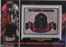 STAR WARS GALACTIC FILES PR-22 EMBROIDERED PATCH TIE FIGHTER SQUADRON PILOT