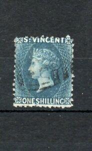 St Vincent 1866 1s FU