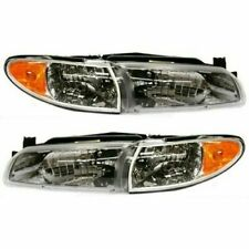 FIT FOR GRAND PRIX 1997 1998 1999 2000 2001 2002 2003 HEADLIGHT RIGHT & LEFT SET