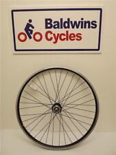 "FRONT 27.5"" (650B) DISC BRAKE Mountain Bike Wheel BLACK DOUBLE WALL - Q/R Hub"