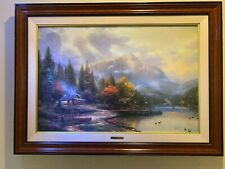 "Thomas Kinkade ""End of a Perfect Day Iii� 24x36"