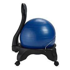 Gaiam 558865 Classic Balance Ball Chair 52cm Blue