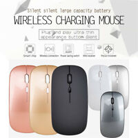 2.4GHz Wireless Optical USB Gaming Mouse 1600DPI Rechargeable Mute Mice For PC A