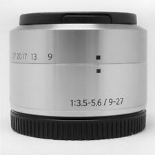White Box // Samsung 9-27mm Lens NX Mount for NX Mini // Silver