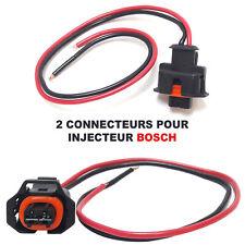 2X Kit de réparation Faisceau Fiche Connecteur pour Injecteur BOSCH BMW Mercedes