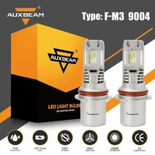 AUXBEAM 50W 5000LM COB LED Headlight Kit HB1 9004 Hi/Lo Beams 6500K White Bulb
