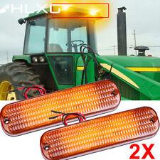 2x For John Deere Equipment Amber Lamp Ar60250 1530 2030 26301020 20201250