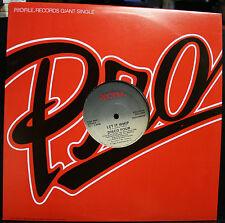 "VINYL RECORD PROFILE GIANT SINGLE DISCO FOUR WHIP RAP LET IT WHIP PRO-7010 12""EX"