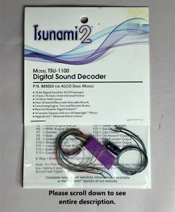 "Soundtraxx Tsunami 2 TSU-1100 Alco Diesel Decoder #885003 NEW! ""AS IS"""