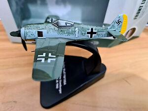 Focke Wulf FW190A Otto Stamburger 4 / Jg 26 1943 - Scale 1:72 Die Cast - Oxford