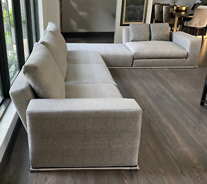 B&B Italia Marcel Seating System Designed by Antonio Citterio - Made in Italy