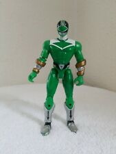 "2000 Bandai Power Rangers Time Force Green Ranger 5.5"" Action Figure used"