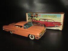 New Car 60 Chevrolet Marusan / IY Metal Toys Box Japan Mint