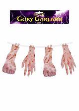 1.8 M Halloween cruenti Garland Arti recisi tortura Da Appendere Festa Decorazione Prop