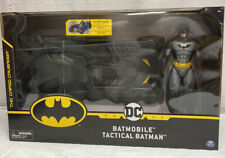 Batmobile & Tactical Batman Toy! DC Comics New! Great Christmas Gift! Fast Ship!