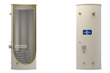 WH 120 Litre Superflow Indirect Unvented Stainless Steel Hot Water Cylinder