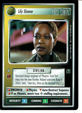 STAR TREK CCG FIRST CONTACT RARE CARD LILY SLOANE