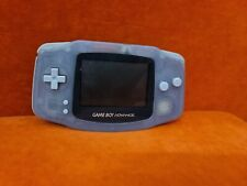 Nintendo GameBoy Advance Clear Glacier ~ AGB-001~ Tested & Working