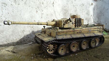 1/ 16 Heng Long not tamiya  RC Tiger Tank with Sound and Smoke 27MHZ