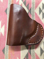 Outbags USA IWB Brown Leather Holster Fits S&W Bodyguard/ TCP / LCP