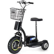 Electric Mobility 500W Scooter MotoTec 3 Wheel Trike 48 Volt Travel MT-TRK-500