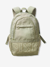 Victoria's Secret Pink Collegiate Campus Backpack Shale Green 2019