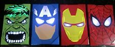 Avengers Wall Lights Hulk Iron Man Captain America Spider-Man 4 IN ALL LIGHT UP!