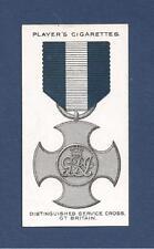 The DSC DISTINGUISHED SERVICE CROSS MEDAL original 1927 card