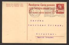 8367- Switzerland , Schweiz , ganzsache postkarte  – postal stationery