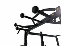 Titan Crown Pull-Up Chin Up Bar Sphere Standard Fat Grips For T-3 Power Rack