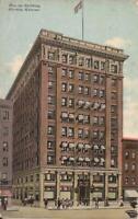 Wichita, KANSAS - Beacon Building - 1911 - ARCHITECTURE - old car