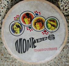 Monkees TAMBOURINES Size 8 Inch CP Brand New Single Row Jingles Calf Skin H