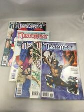 Testament # 5 - 10 Vertigo Comics 2006 Douglas Rushkoff Liam Sharp VF