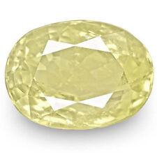 Transparent Yellow Loose Sapphires