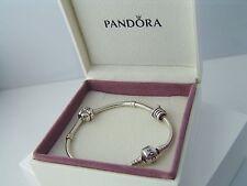 Original PANDORA Armband Armkette mit 2 Charms aus 925er Silber