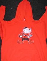 Cleveland Browns Brownie Elf Gildan Orange Hoodie XL