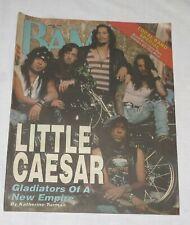 BAM LA's Music Magazine 18 May 1990 333 Little Caesar Gladiators of a New Empire