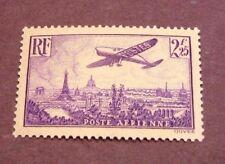 France Stamp Scott#  C10 Plane over Paris 1936 MNH   C220
