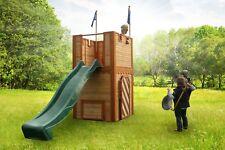 CASINA DI LEGNO Axi ARTHUR Castello Bambini Giardino Giochi Esterno Wood House