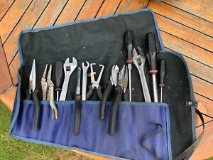 Facom Tools Collection In Tool Kit Bag