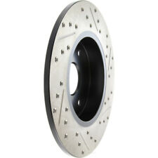 Disc Brake Rotor-Sport Drilled/Slotted Disc Front Right Stoptech 127.35116R