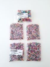 3mm Flatback Colored Beads, 5 Packs of Flat back beads. Flatback Pearls
