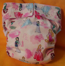 Adult New Reusable Super Absorbent Cloth Diaper S,M,L,XL Princesses 5