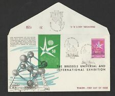 Belgium 1958 Expo on fdc Portugal Timor