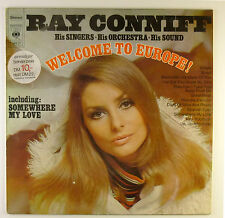 "12"" LP - Ray Conniff - Welcome To Europe! - B2741 - washed & cleaned"