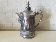 Old Mermod Jaccard St. Louis Quadruple Silver Plated Water Pitcher