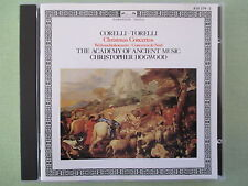 Corelli, Torelli: Christmas Concertos Weihnachtskonzerte  Hogwood CD full silver